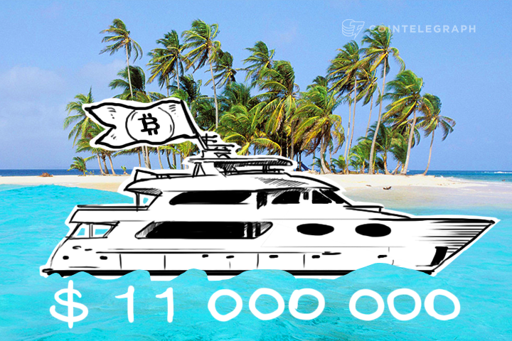 Voyage Yacht with Bitcoin