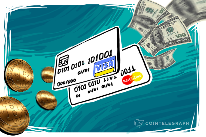 You can transfer Bitcoin to VISA or Mastercard – unless you're Russian