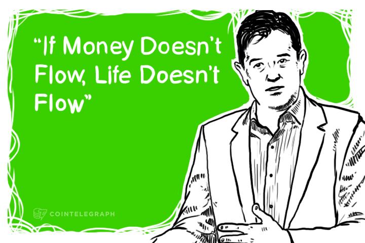 "Juan Llanos at TedxMidAtlantic: ""If Money Doesn't Flow, Life Doesn't Flow"""