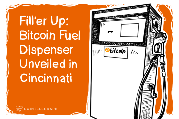 Fill'er Up: Bitcoin Fuel Dispenser Unveiled in Cincinnati