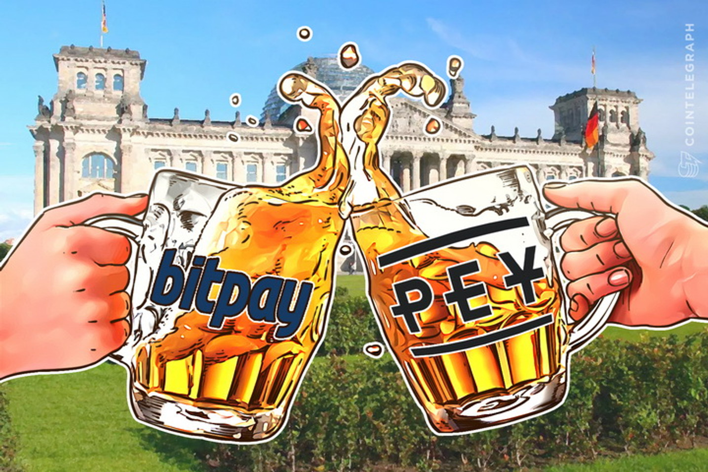 Bitcoin Payroll Hits Germany: BitPay Partnering With PEY