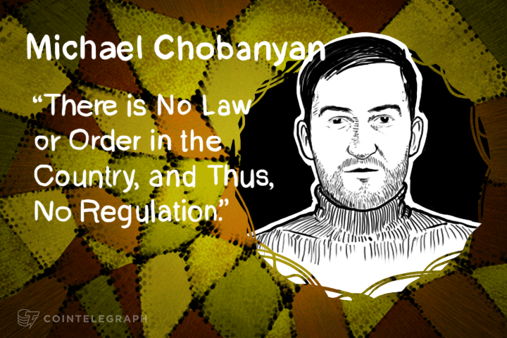"Michael Chobanian: Troubled Ukraine a ""Haven for Cryptocurrency"""