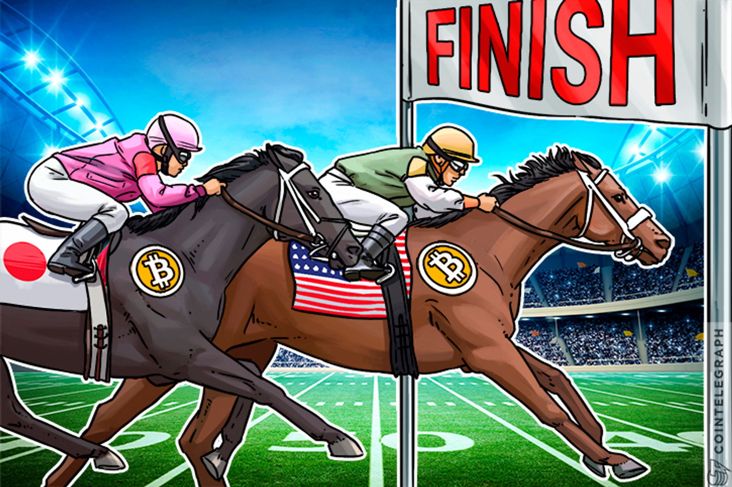 How US Briefly Overtook Japan And Became Largest Bitcoin Exchange Market