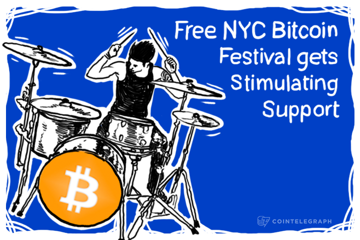 Free NYC Bitcoin Festival gets Stimulating Support