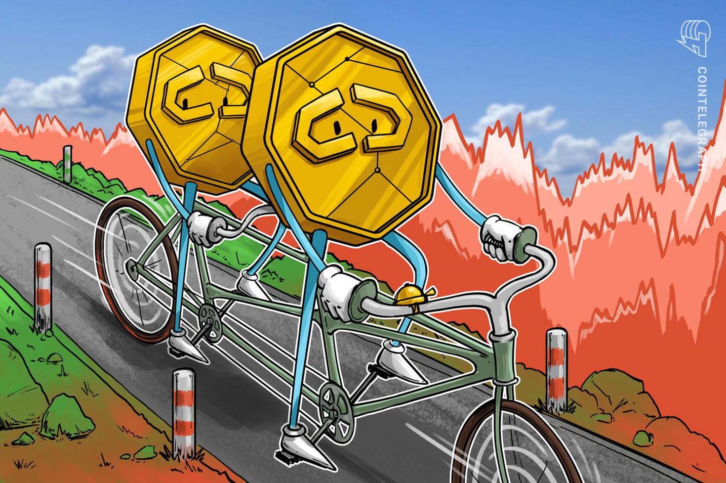 Crollo dei mercati delle criptovalute: perdite a doppia cifra per molte monete