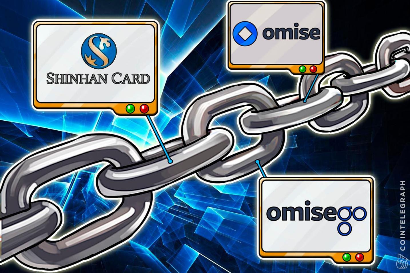 Omise Go:韓国クレジットカード大手の新韓カードとの実証実験完了 Plasmaチェーン上でポイントをトークン化