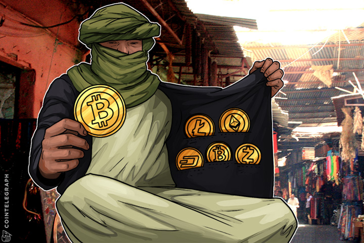 Bitcoin Conquers Morocco As Underground Crypto Bazaar is Flourishing