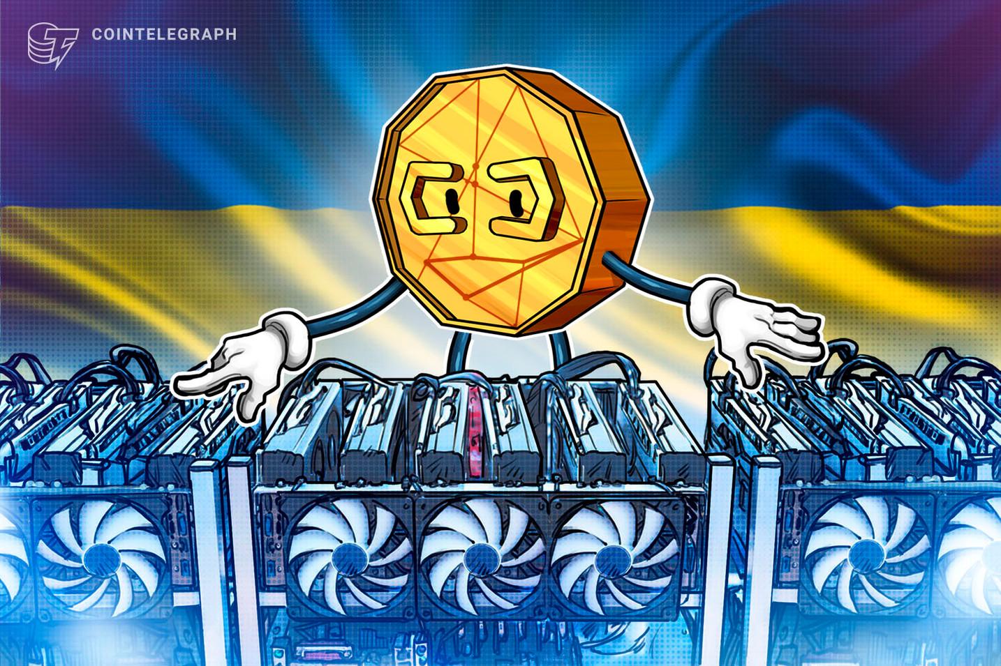 El regulador ucraniano dice que la criptominería no requiere supervisión del gobierno