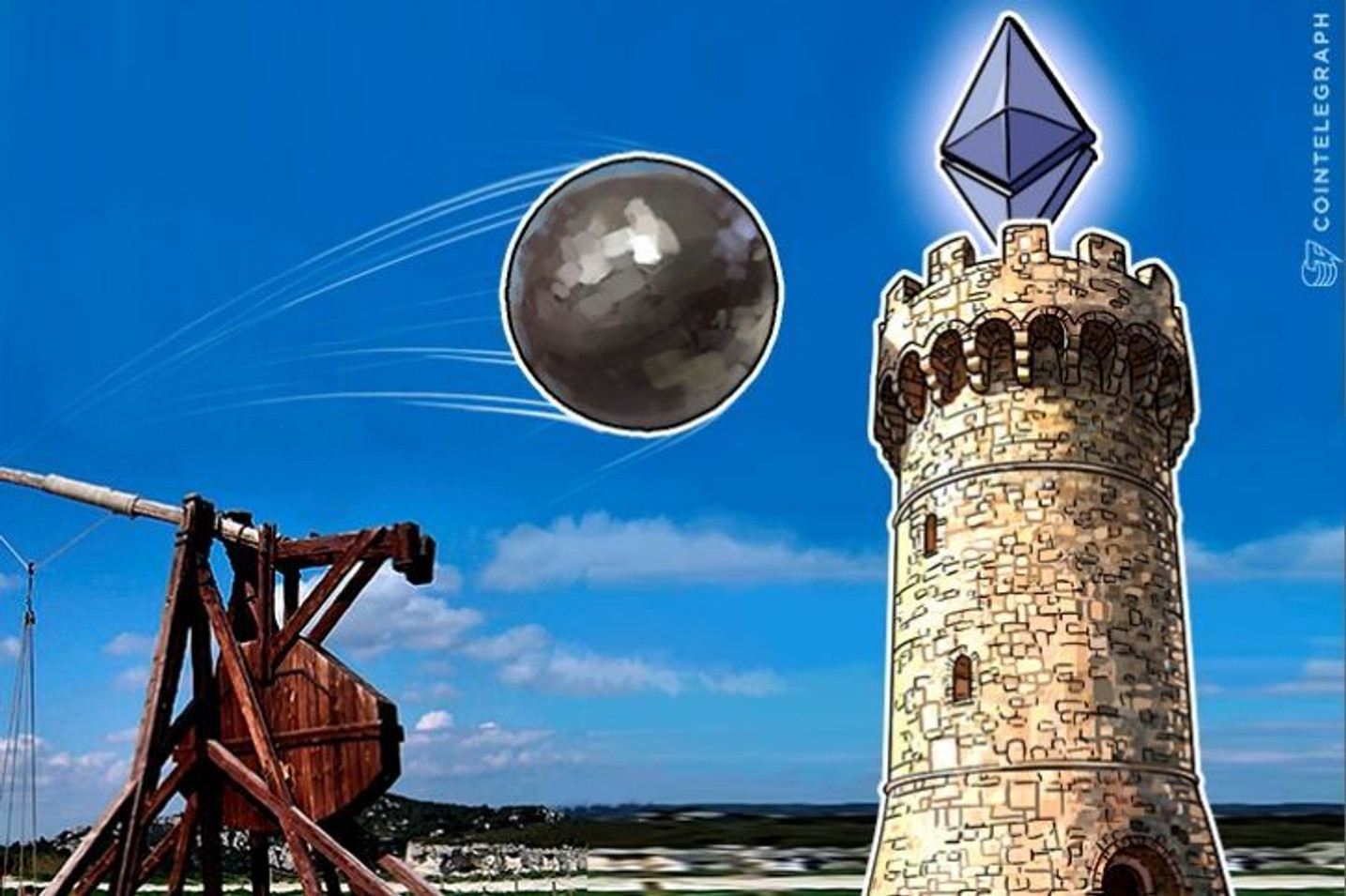 Ethereum Dives To 10 Cent Prices As Network Panics