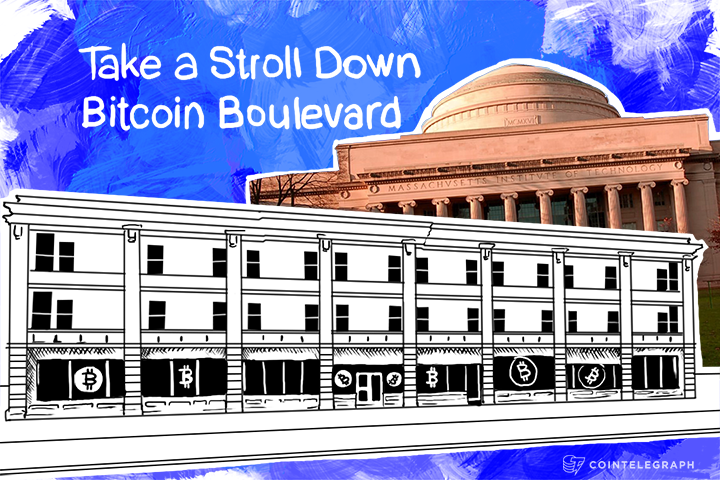 Take a Stroll Down Bitcoin Boulevard