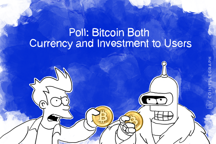Poll: Bitcoin Both Currency and Investment to Users