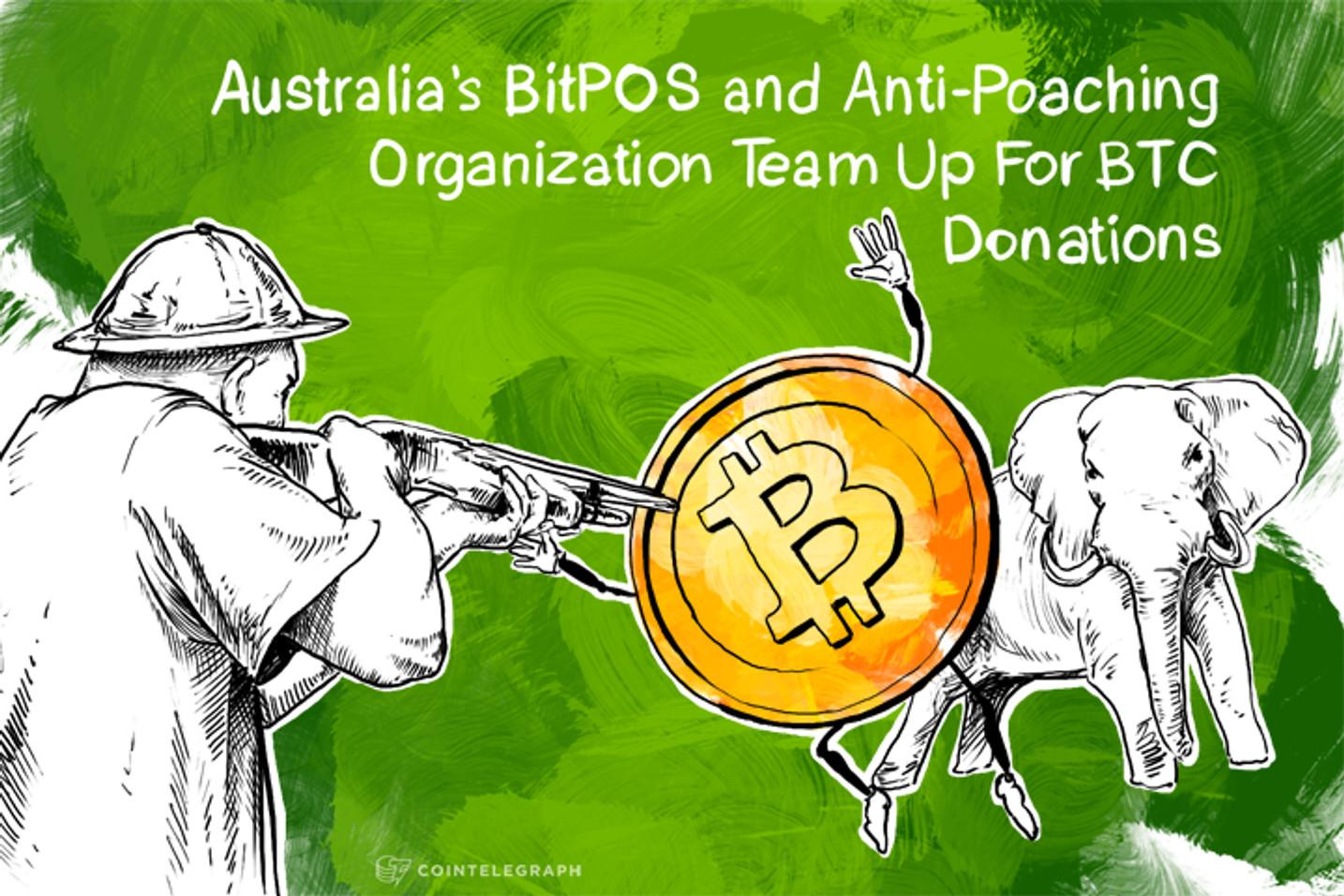 Australia's BitPOS and Anti-Poaching Organization Team Up For BTC Donations