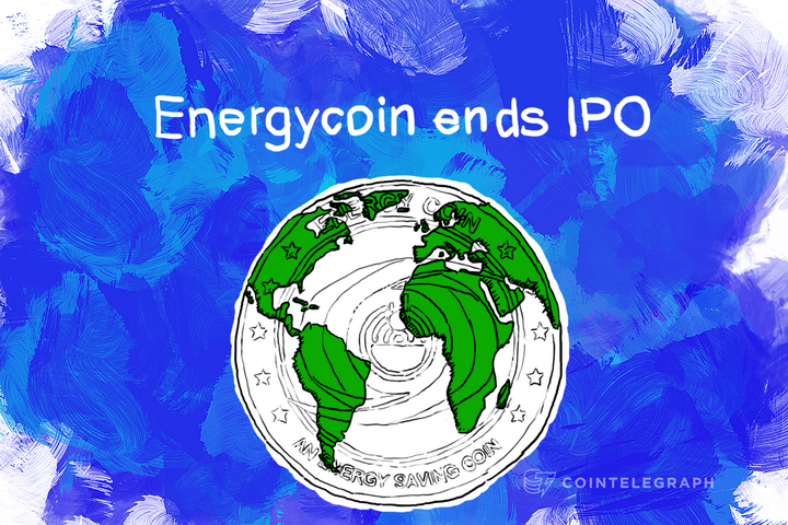 Energycoin, the Power-Saving Crypto-currency, Ends IPO