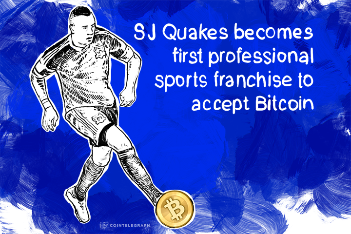 SJ Quakes becomes first professional sports franchise to accept Bitcoin
