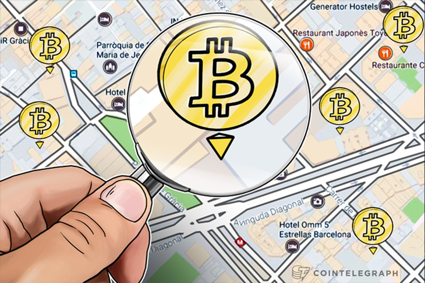 Up for Grabs: Hidden Bitcoin Treasures in Streets of Barcelona