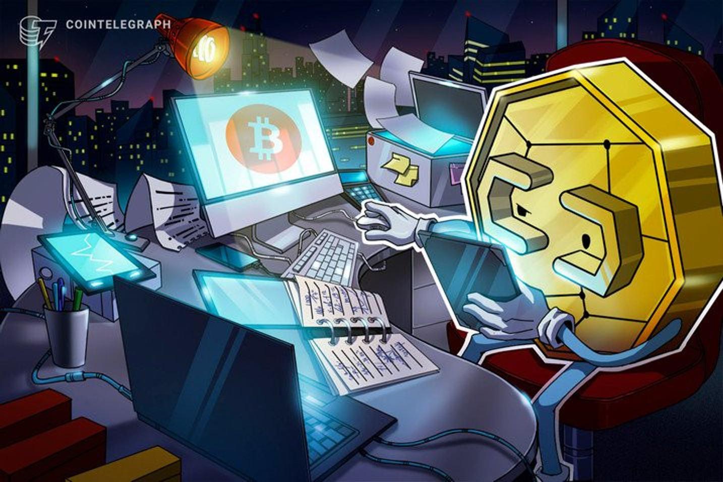 Volume de Bitcoins cai em exchanges no bimestre