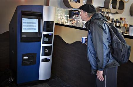 The first bitcoin ATM managed $100,000 worth transactions in a week