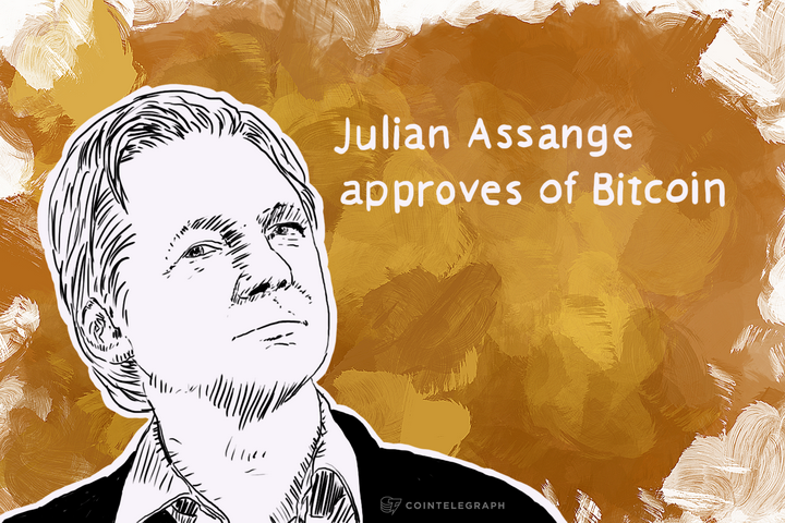 Wikileaks Founder Assange Endorses Bitcoin at South African Tech Conference