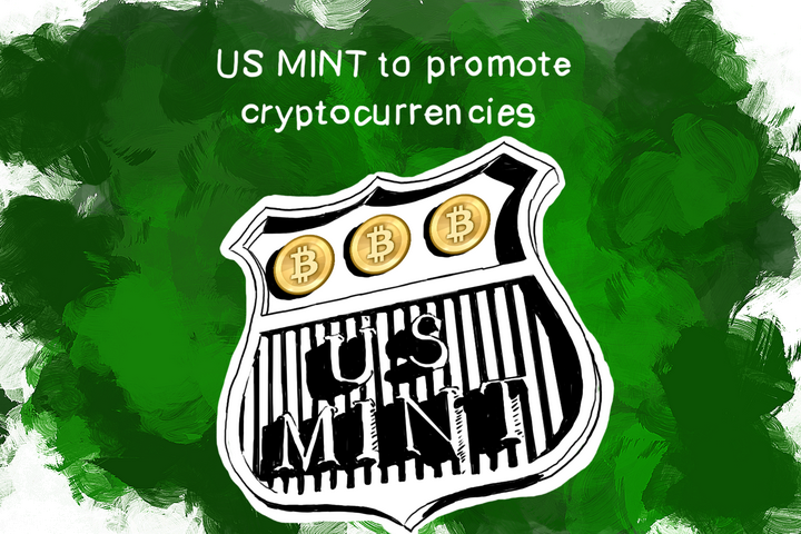 US mint promotes Bitcoin