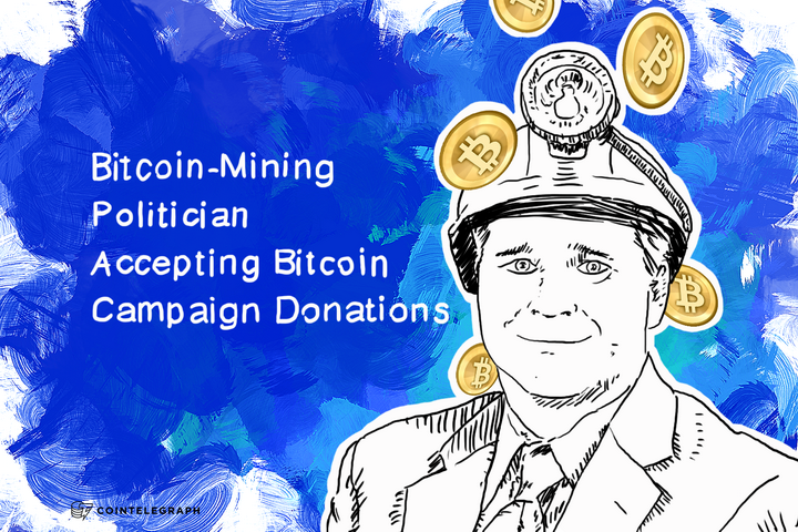 Bitcoin-Mining Politician Accepting Bitcoin Campaign Donations