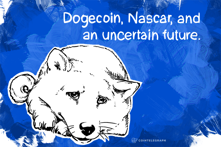 """Such Wow"", ""Much happy"". Dogecoin, Nascar, and an uncertain future"