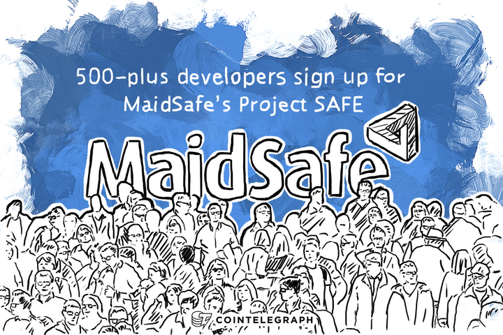 500-plus developers sign up for MaidSafe's Project SAFE