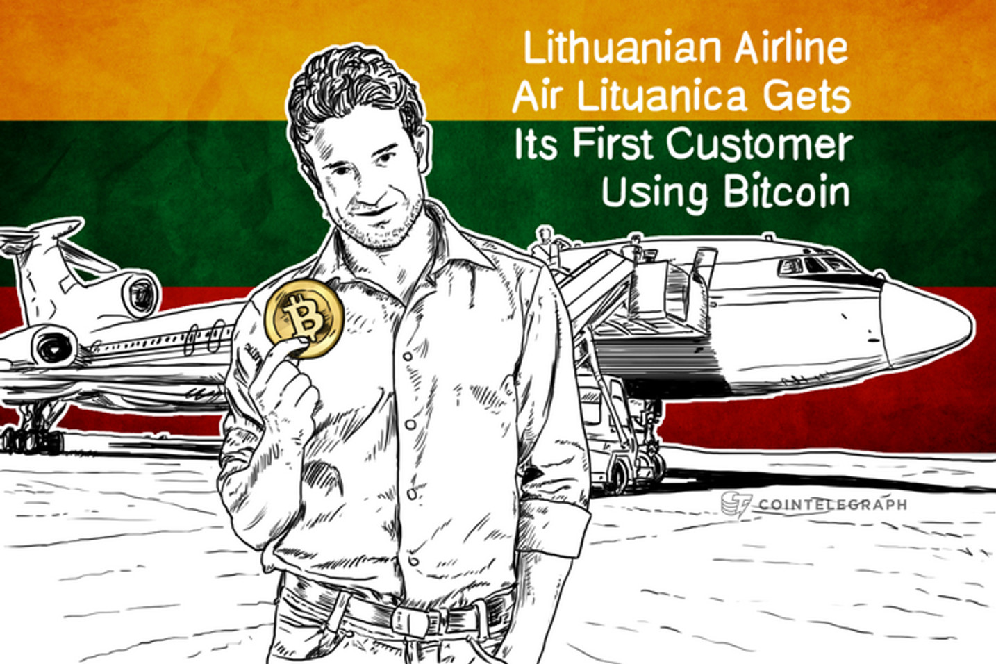 Lithuanian Airline Air Lituanica Gets Its First Customer Using Bitcoin
