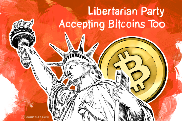 Surprise, Surprise: Libertarian Party Accepting Bitcoins Too