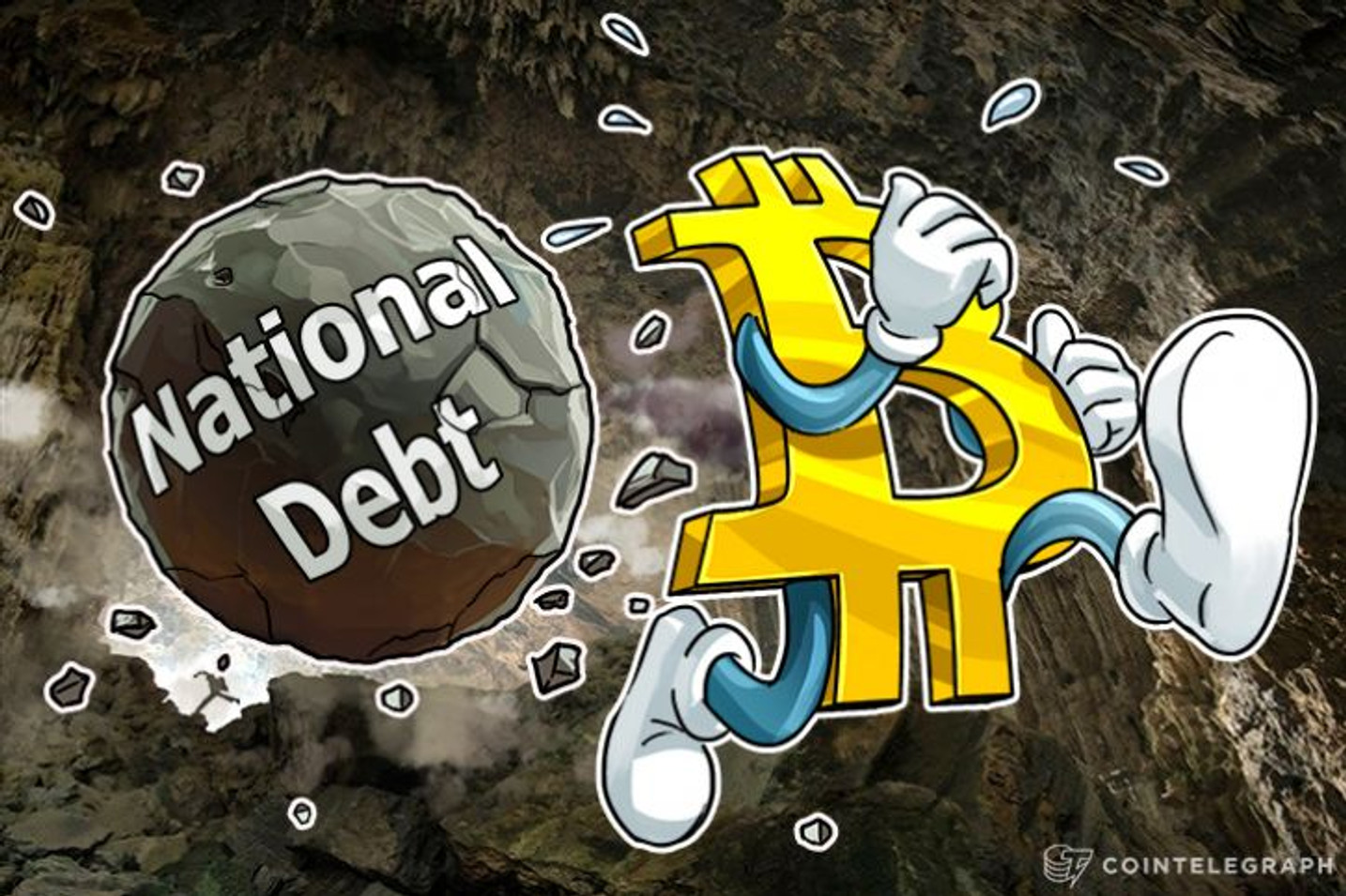 Bitcoin Bubble? US National Debt Passes $20 TRILLION For First Time In History