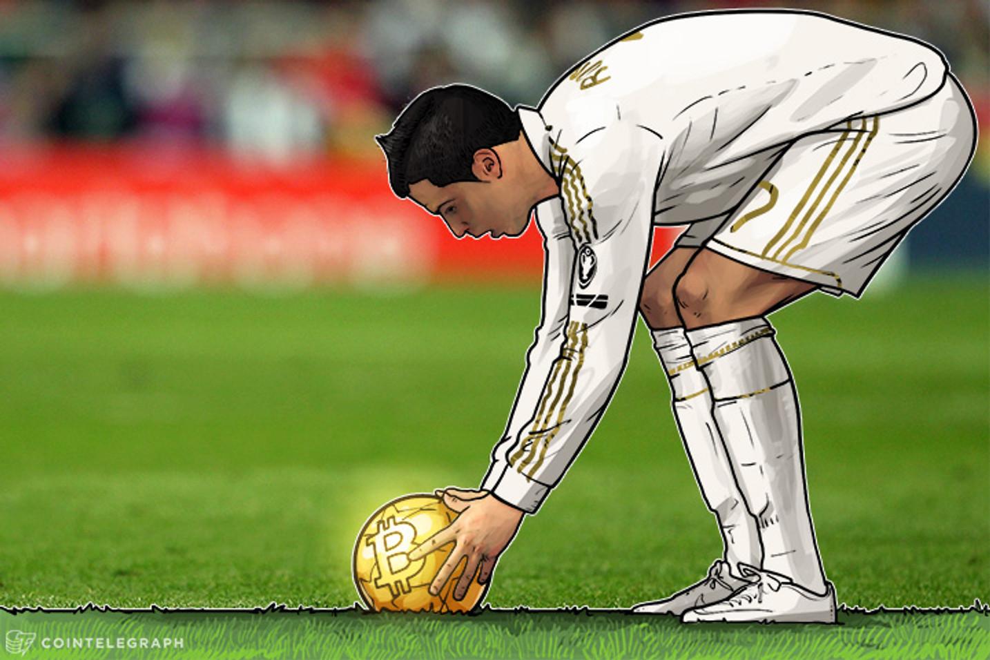 Como encontrar Cristiano Ronaldo com Bitcoin