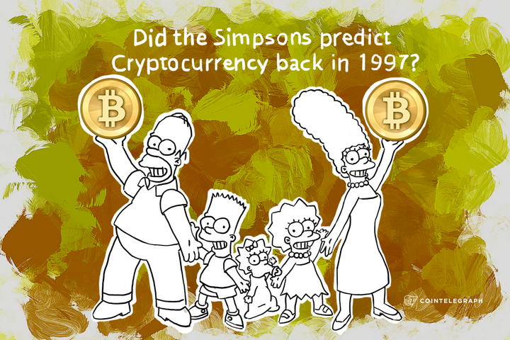 Did the Simpsons predict Cryptocurrency back in 1997?