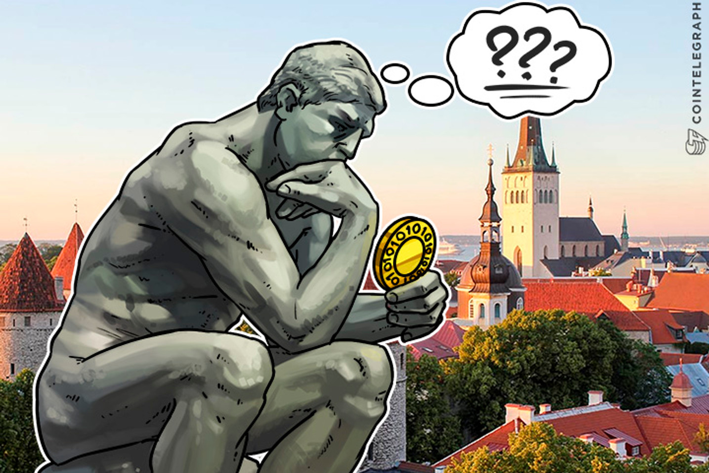 Estonia Can't Make Its Own Digital Currency