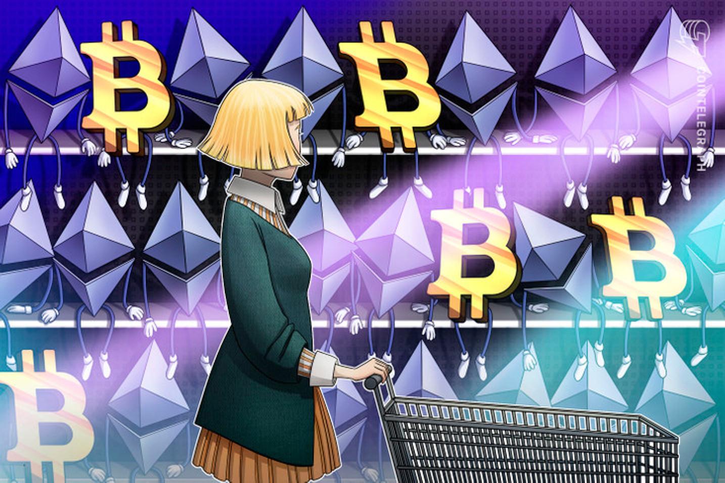 Bitcoin e Ether recuperam perdas na crise; Bitcoin Cash e Litecoin ficam para trás