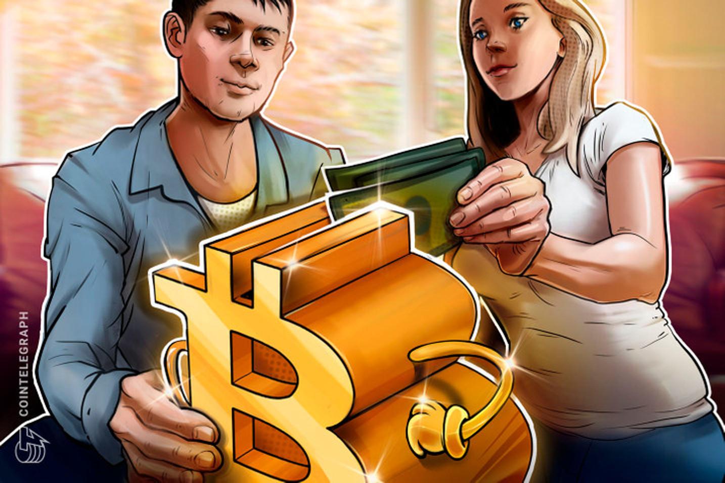 Esposa pensou em pedir divórcio depois de marido 'cair no culto do Bitcoin'