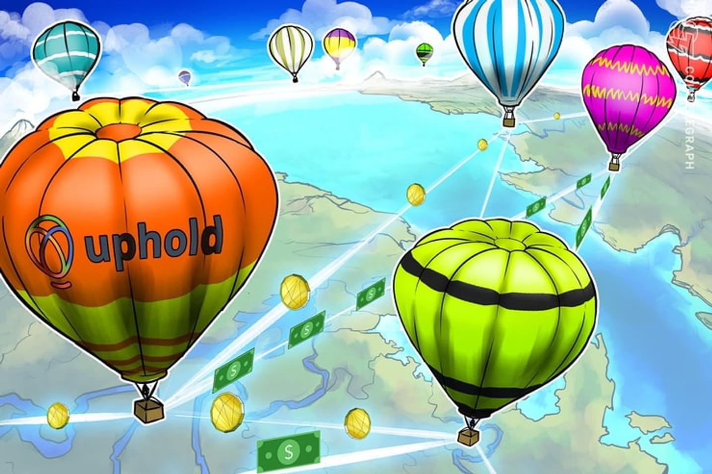 Uphold lanza un nuevo servicio para poder realizar transacciones recurrentes y programadas