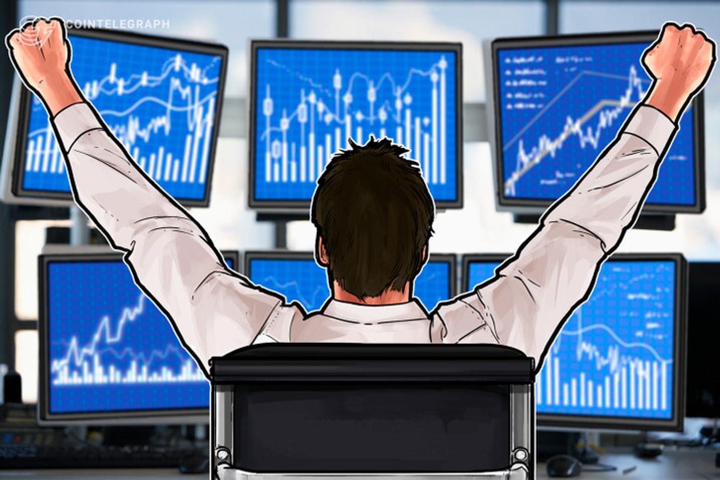 Febrero ofreció importantes rentabilidades en los principales criptoactivos