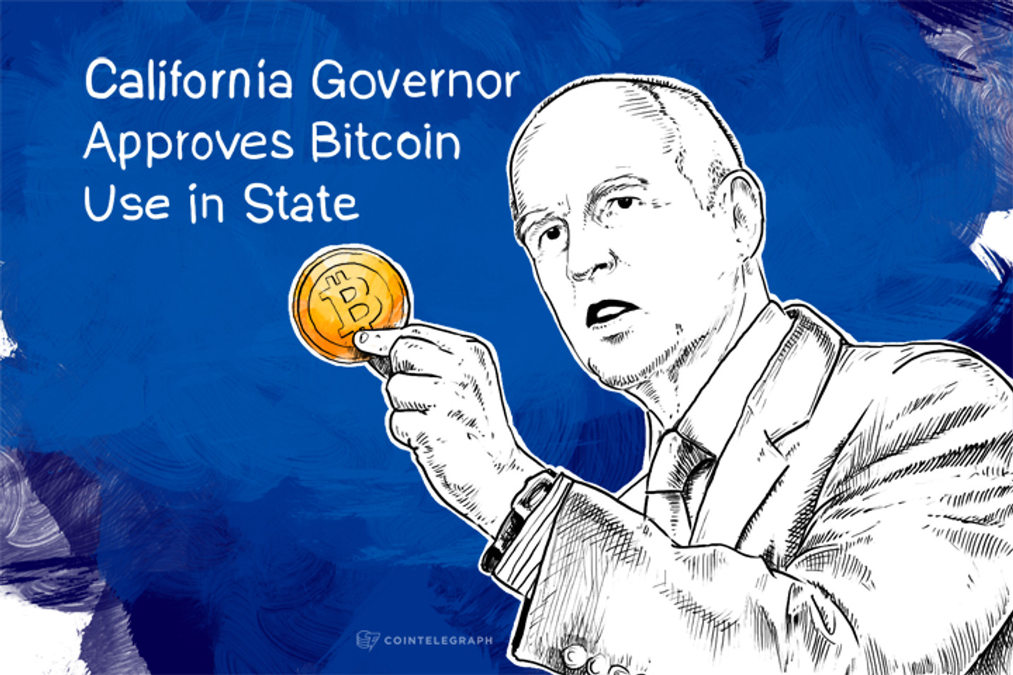 California Governor Approves Bitcoin Use in State
