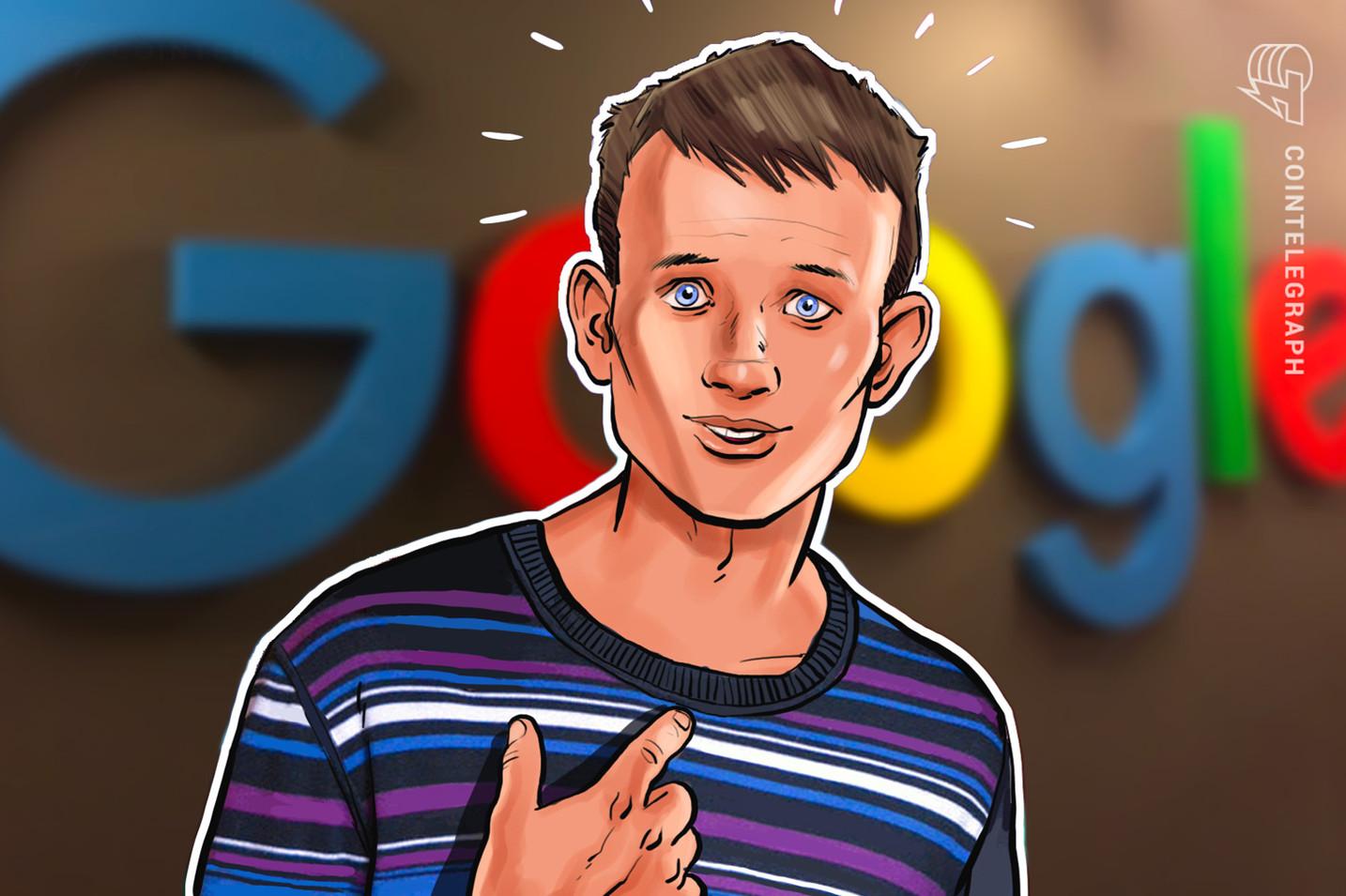 ヴィタリック氏、グーグルから就職オファー ツイッターでフォロワーに意見求める