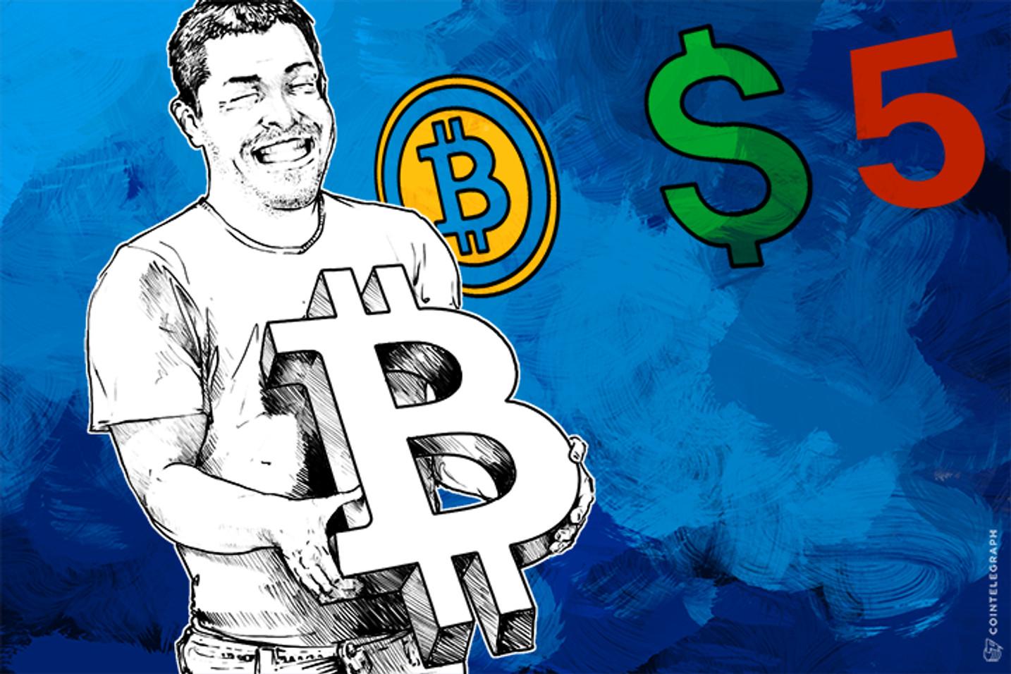 5 Reasons Why I'd Still Use $5 Bitcoins (Op-Ed)