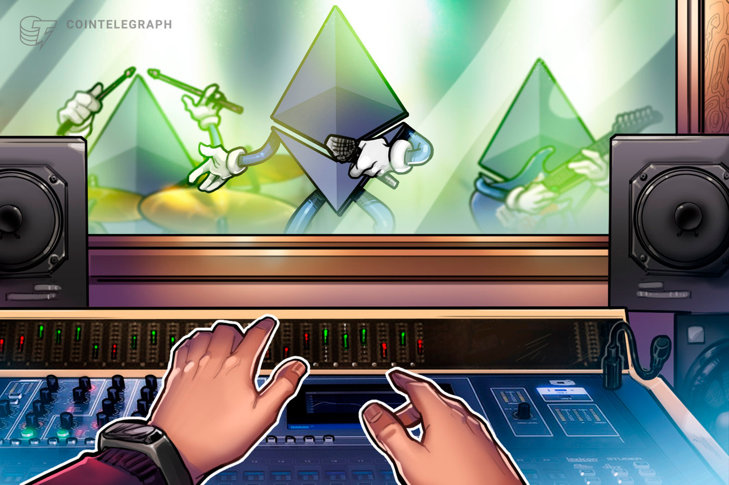 Warner Music to Build Token on New Blockchain by CryptoKitties Creator