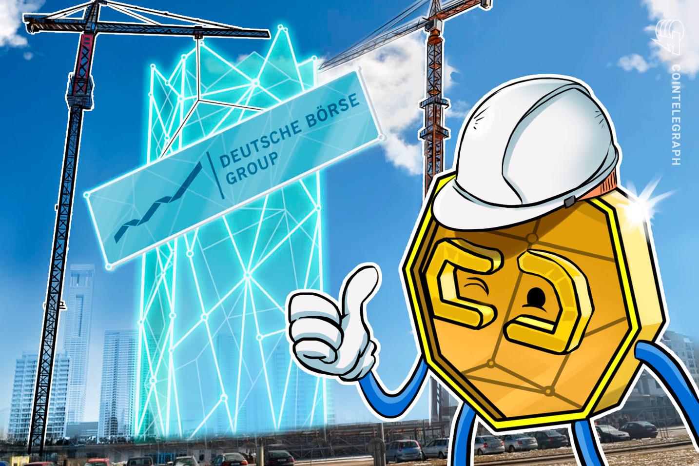 Deutsche Börse crea una unidad de dirección centralizada dedicada a blockchain y los criptoactivos