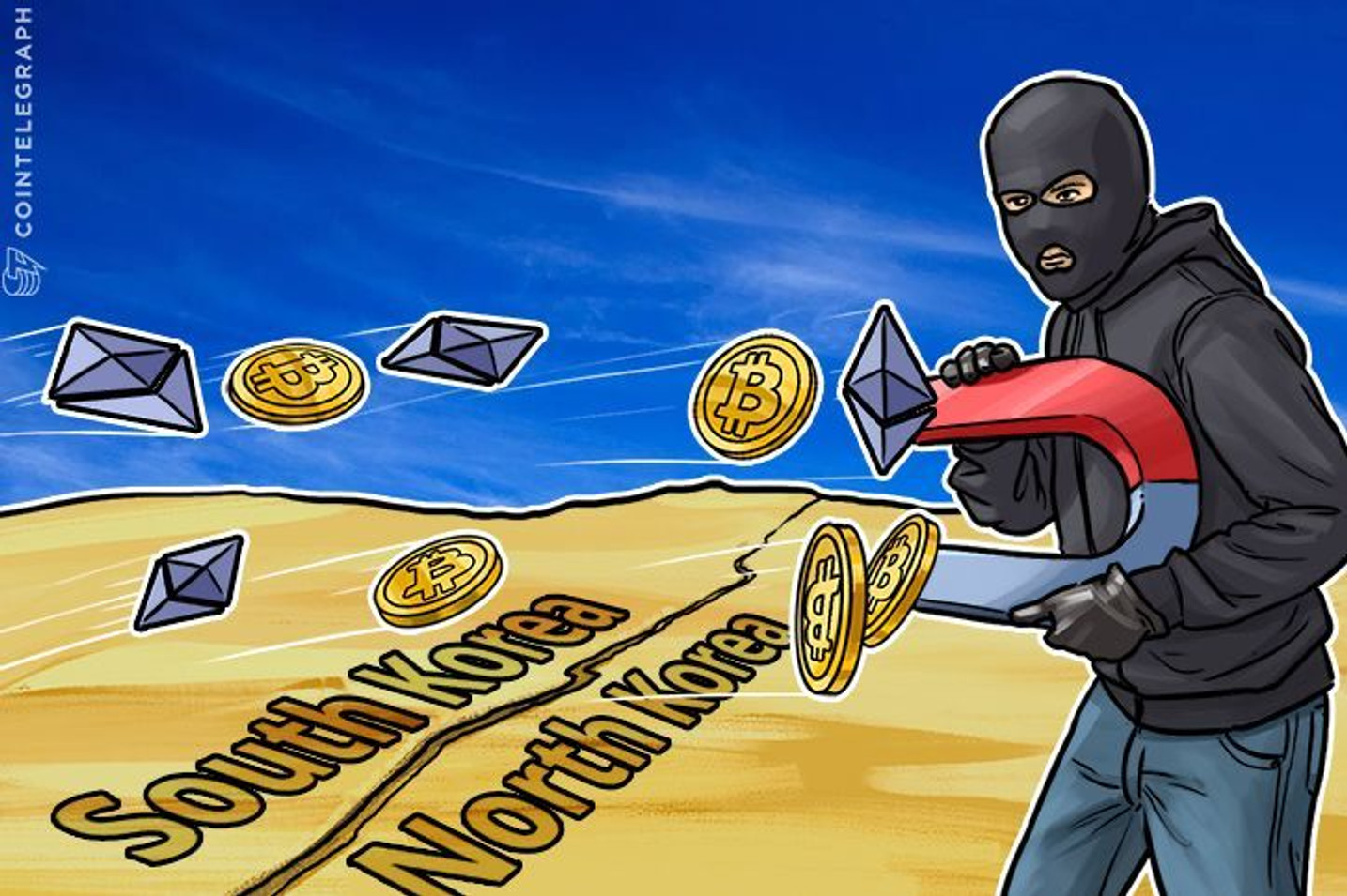 NK 'Absolutely Amassing' Bitcoin, South Korean Exchange Bankrupted By Hack