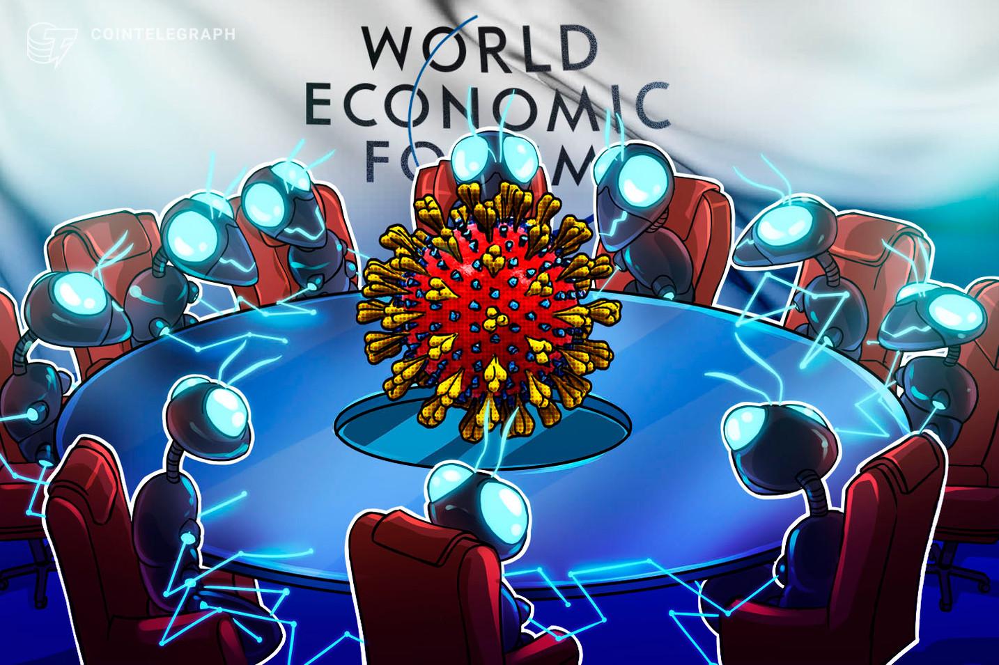 Il WEF propone l'utilizzo della blockchain per accelerare la ripresa economica dopo l'epidemia
