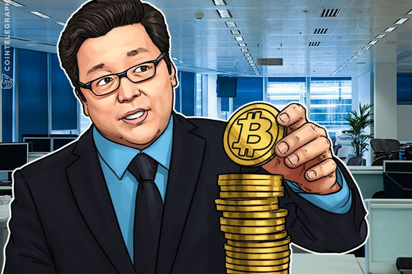 Fundstrat's Tom Lee Stays Bullish On BTC Price, Sees Major Firms Joining Crypto Sphere