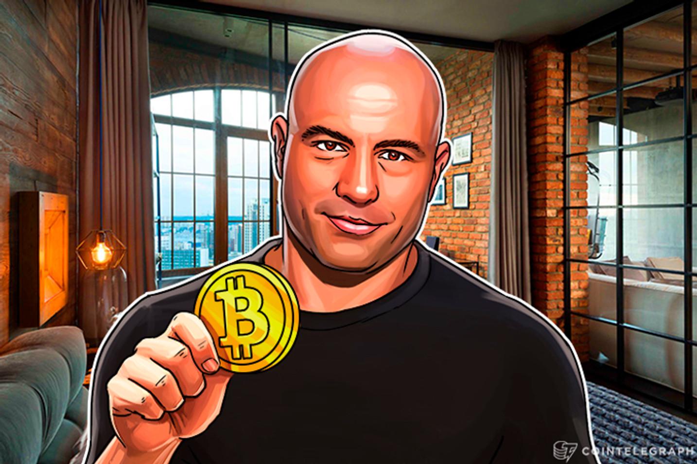 'Eu não sou exatamente um cético, mas não invisto em Bitcoin' diz Joe Rogan em nova polêmica
