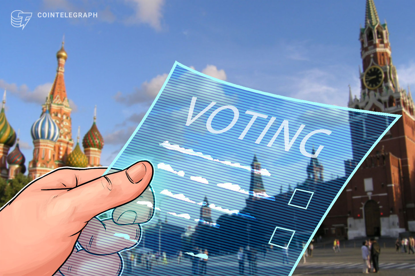 Ruling Russian Political Party Launches Blockchain-Based E-Voting