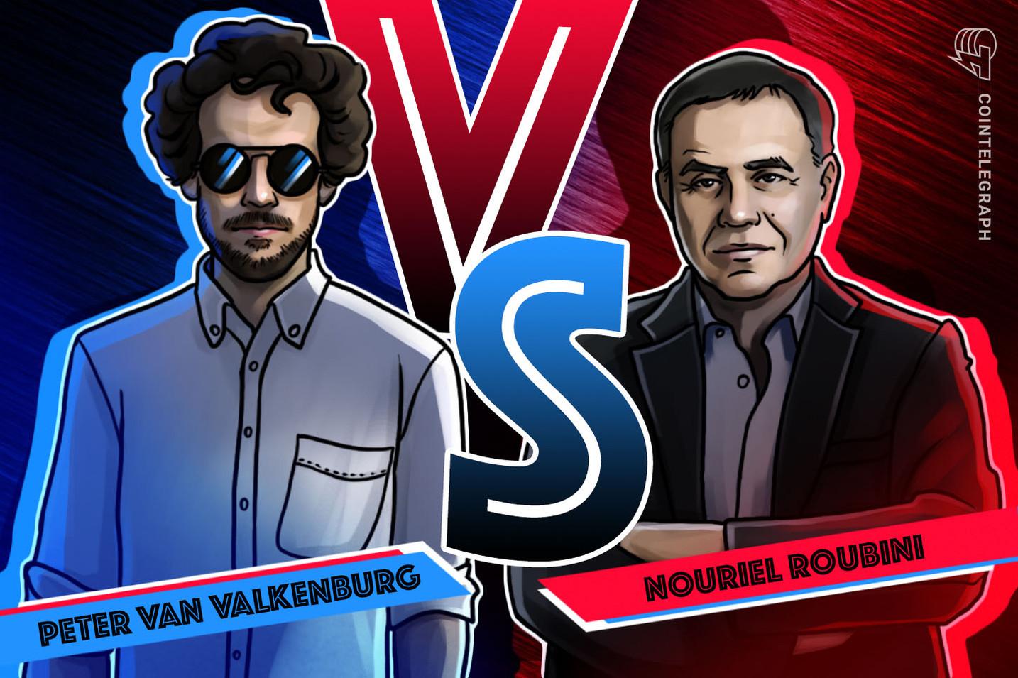 Nouriel Roubini Versus Blockchain: Notes from the Senate Floor