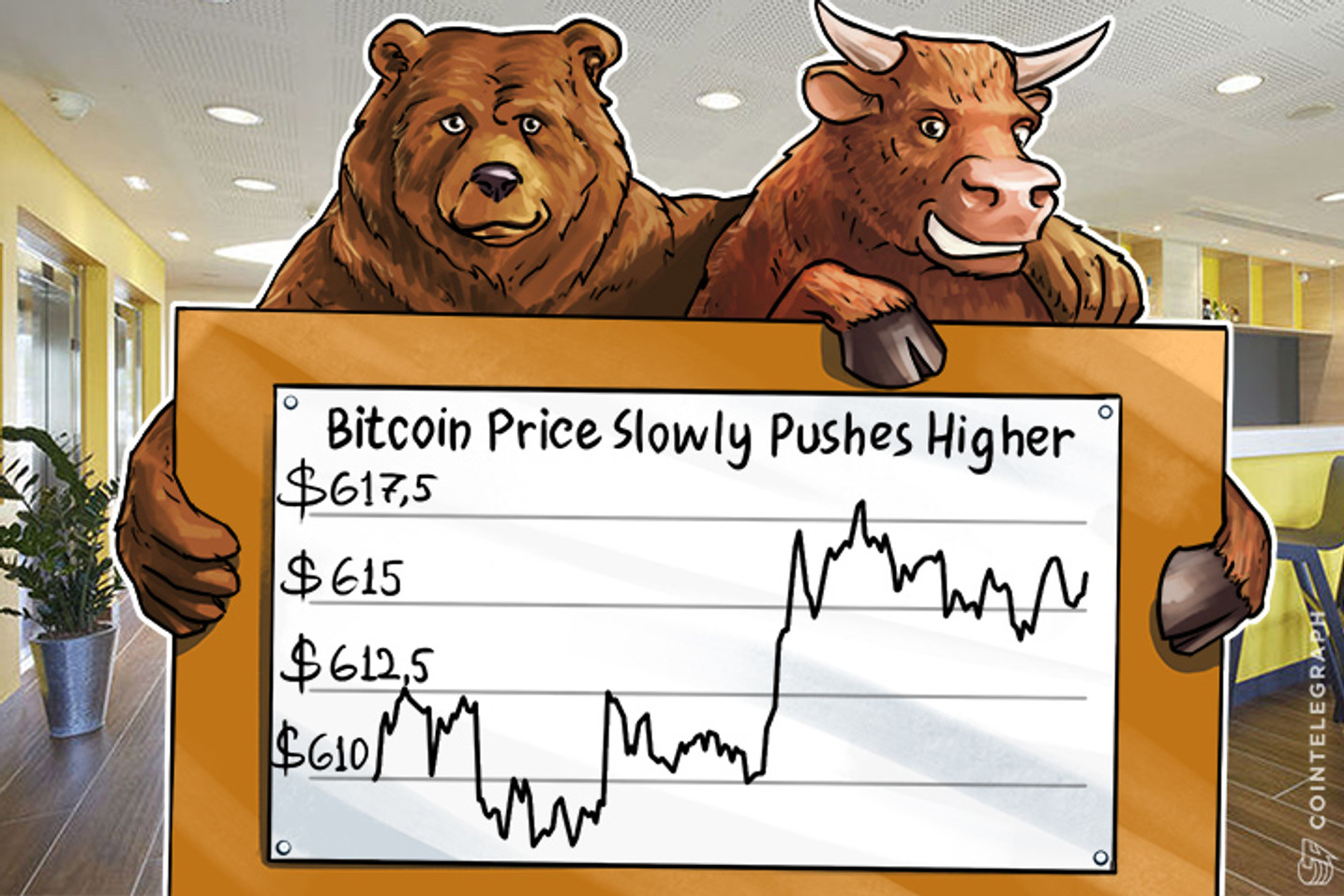 Bitcoin Price Slowly Pushes Higher as the Scaling Bitcoin Conference Wraps Up