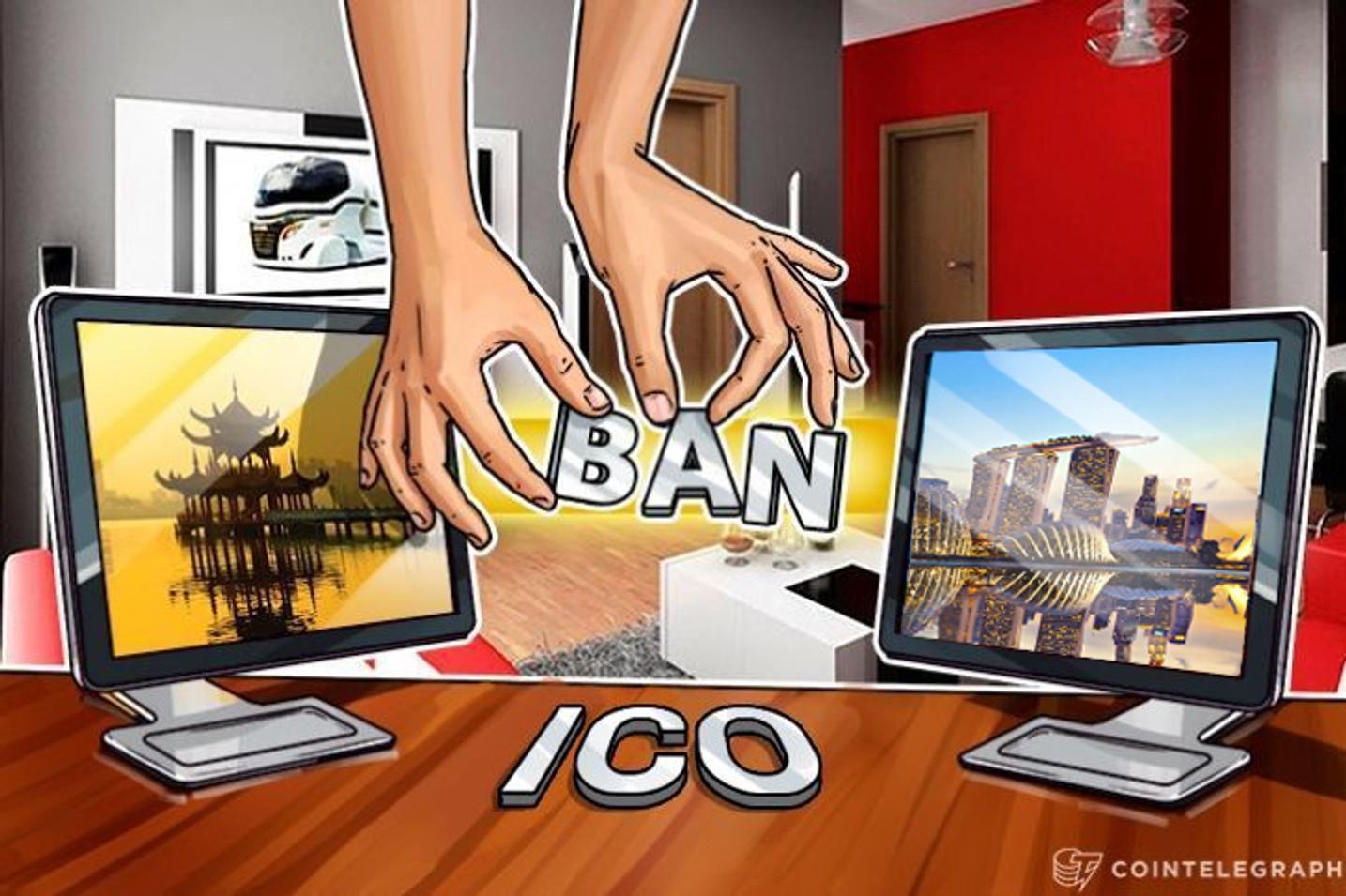A la estela de la prohibición del Bitcoin en China, Japón, Singapur, EE.UU.