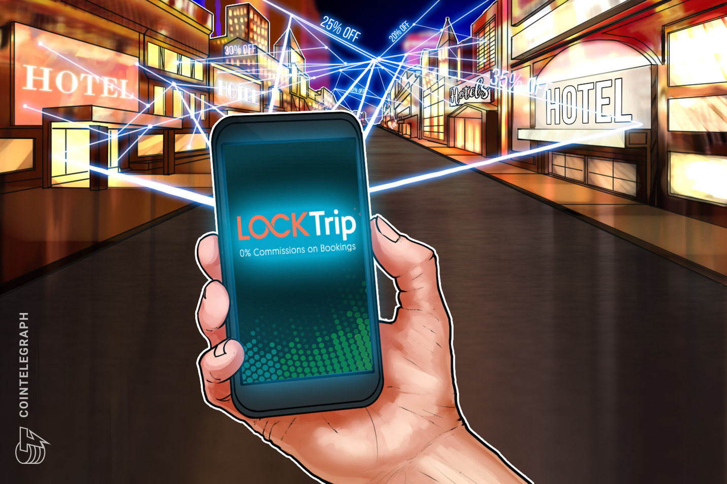 Blockchain Travel Service to Offer Hotels 20 Percent Cheaper Than on Booking.com or AirBnb